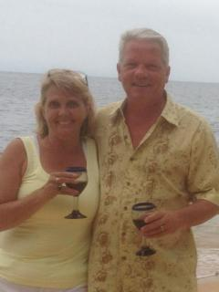 Join us for wine on our deck! - Pam and Randy LaBonte