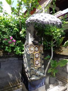 Ganesha that guards the front gate - Angel Villa Bali