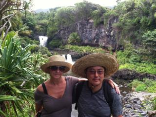 Road to Hana -Seven pools - Hana Hedvika/ Jakub
