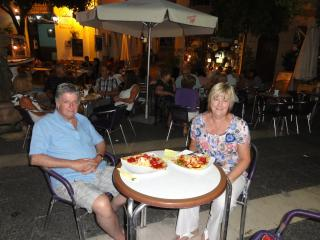 Mary & Brian at Estepona Town - Mary Morrison