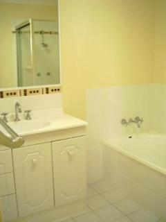 Second bathroom upstairs with bath and shower  - Lorraine & Robert Murray