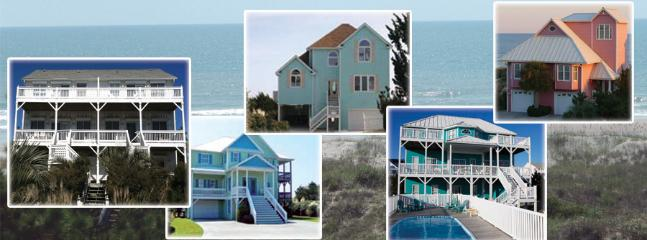 A few of our beautiful Ocean Front Vacation Homes - Spinnaker's Reach Realty