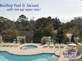 Rooftop Pool - Kelsey Cottages