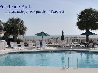 Our guests can use beachside pool - Kelsey Cottages