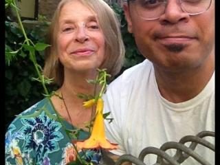 The two generations who transplanted the family home & garden to Sugar Hill  - carolyn owerka