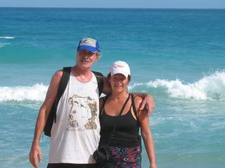 We love Culebra - Ginette and Jean Claude