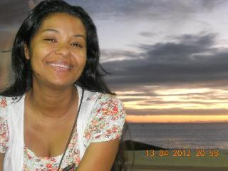 Cris at Sunset - Cristiane