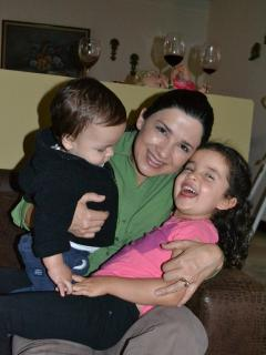 Me and my children - Alejandra Monge