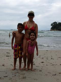 At Manuel Antonio, with our friend Marco - Alejandra Monge