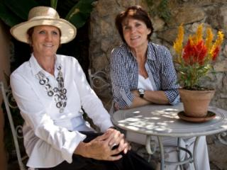 Cathy and Marie, french Decoraters speaking english, spanish,french we love flowers and nature - CATHY LEBLANC