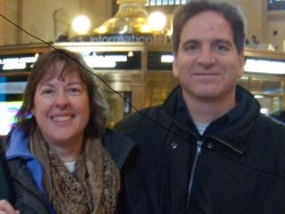 Rod and Theresa at Grand Central Station - Rod and Theresa Williams