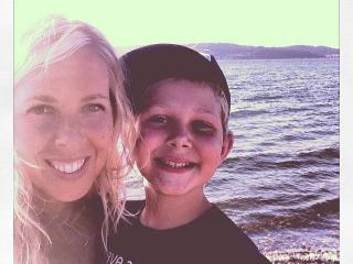 A beautiful fall day with my son at the Beach! - Andrea Oosterwyk