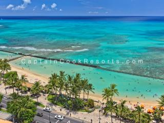 Waikiki Beach Tower #1903 - Luxury, 2/2 remodeled condo with beautiful ocean views - sleeps 6! - Honolulu vacation rentals