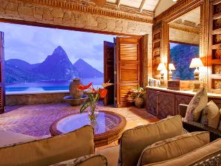 St Lucia Villa 2 This Cliffside Dwelling Is Located Within A Few Minutes Drive To The Pristine Anse Chastanet Beach. - Saint Lucia vacation rentals