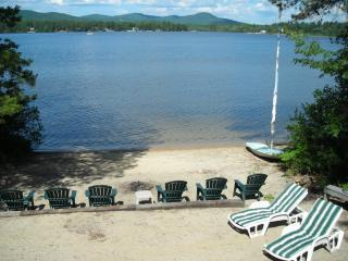 Lakefront Home on Private Beach with dock - Center Ossipee vacation rentals