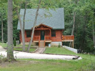 Beautiful newly built log cabin in French Lick - French Lick vacation rentals