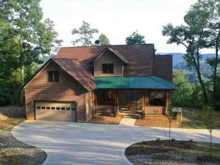 Vista Lael Lodge Totally secluded in Lone Mountain Shores Norris Lake Cabin Rentals - New Tazewell vacation rentals