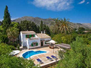Stunning Villa in Pollença for 10 people,  with air conditioning, barbecue and pool - ES-1079074-Pollença - Pollenca vacation rentals