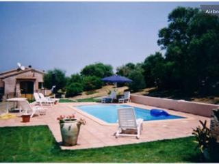 On the Corsican coast, typical villa with swimming pool and jacuzzi - Sainte Lucie De Porto Vecchio vacation rentals