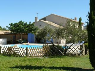 Near Cavaillon, typical Provencal farmhouse with a large garden and a swimming pool - Cheval-Blanc vacation rentals