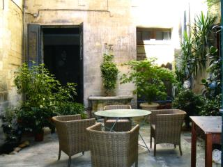 Right in the centre of Avignon, charming apartment in a private townhouse with enclosed courtyard - Vaucluse vacation rentals