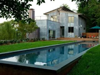 Woolen Mills Retreat:: Modern home with pool - Central Virginia vacation rentals