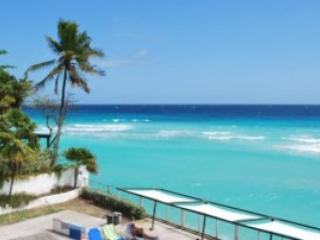 St. Lawrence Beach Apartments, Apt 9, Christ Church, Barbados - Beachfront - Sandy Lane vacation rentals