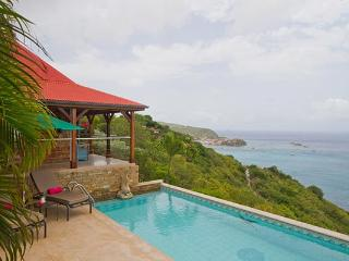 Private villa with incomparable ocean views & breathtaking sunsets WV KAN - Colombier vacation rentals