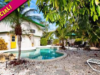 Mangoes on Magnolia: 3BR/2BA Classic Elevated Beach Home with Pool - Holmes Beach vacation rentals