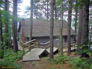 Waterfront Log Cabin style home on Thompson Lake! - Oxford vacation rentals