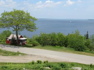 Little Red Cabin in Northport Maine:  Waterfront Rental  Situated Between Belfast and Camden - Northport vacation rentals