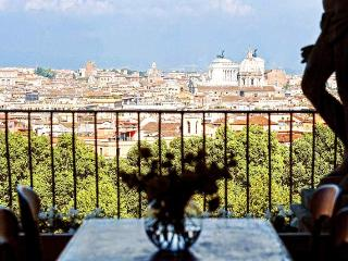 Sant'Onofrio terrace apartment - Rome vacation rentals