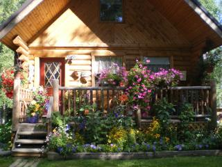 wasilla motel alternative beautiful log cabin - Alaska vacation rentals