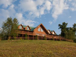 Moose Hollow Lodge-Spectacular Mansion on a Hill - Sevierville vacation rentals