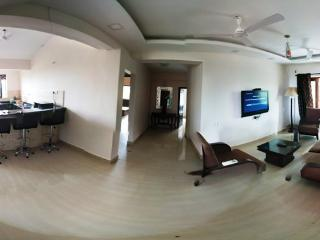 3 Bedroom Apartment with Private Terrace in Mapusa - Mapusa vacation rentals