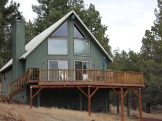 CABIN ON VISTA RIDGE - Mountain view cabin on 8.5 acres, sleeps 5. - Central Oregon vacation rentals