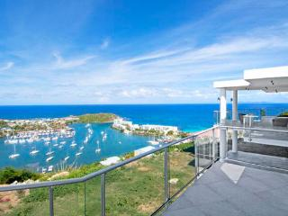 St. Martin Villa 232 Breathtaking Views Of The Oyster Pond Marina And The Ocean. - Terres Basses vacation rentals