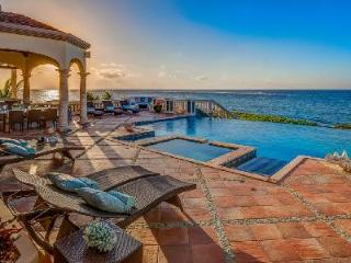 Villa Amarilla on the Sea Rocks of Island Harbor with spacious living and dining & pool - Island Harbour vacation rentals