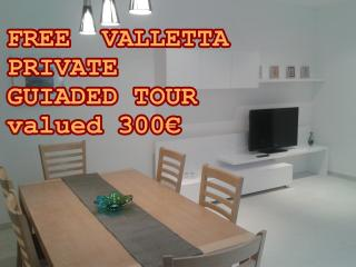 Modern,80m2,balcony with open views,well connected - Msida vacation rentals