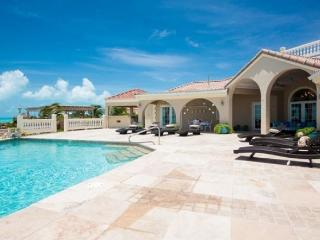 Luxurious 7 bedroom beach front villa with pool - Providenciales vacation rentals