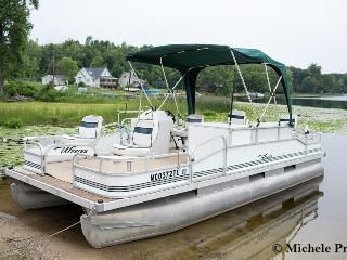 Rental Pontoon $300 Weekends/$500 Full Week - Leach Lake Cabins & Resort
