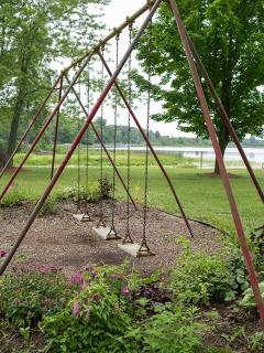 Swingset - Leach Lake Cabins & Resort