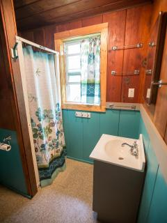 Bathroom 2 Bedroom Cabin - Leach Lake Cabins & Resort