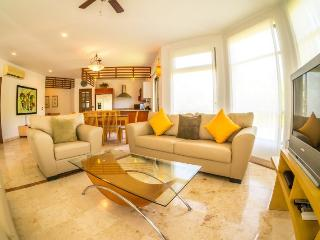 Great Floor plan and lush, private Terrace - Playa del Carmen vacation rentals