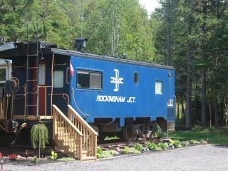 Belfast Blue Caboose Vacation Rental - Flat River vacation rentals