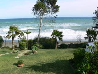 Frontline beach house with private garden - Estepona vacation rentals