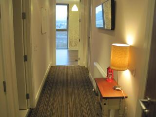 Lux certified 2 bed apt water views - County Antrim vacation rentals