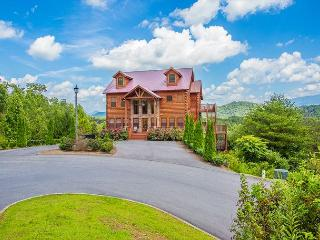 Luxurious 5 BR Lodge with Incredible Views of Famous Mt. LeConte & Much More - Pigeon Forge vacation rentals