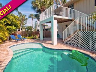 Island Hideaway East: 2BR/1BA Family-Friendly Elevated Home with Pool - Holmes Beach vacation rentals