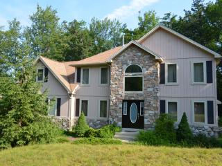 Beautiful Home-Fully upgraded-Hot tub w Ipod/Iphone, Ping pong/Pool table-New Plasms TVs - Pocono Pines vacation rentals